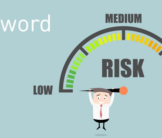 diagram of Risk - low to high