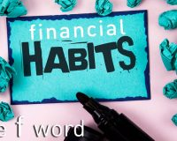 note - financial habits